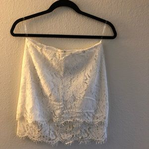 Lulu's Lace Skirt